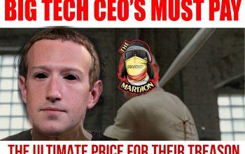I Want Big Tech CEO's Hung